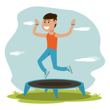 Dobra trampolina fitness - jaką trampolinę do ćwiczeń wybrać?