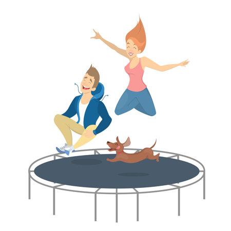 Najlepsza trampolina ogrodowa