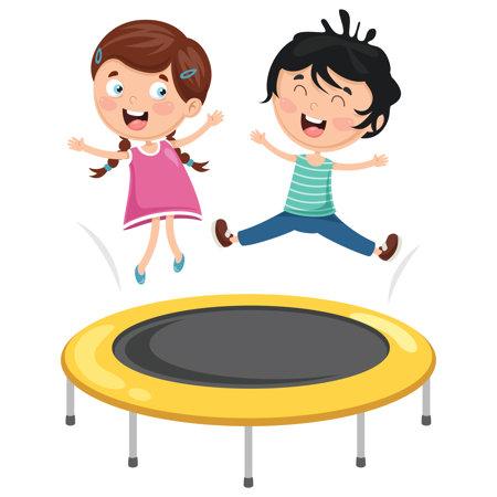 Trampolina ogrodowa dla dzieci i dorosłych