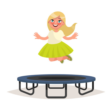 Trampolina stojąca czy trampolina naziemna?